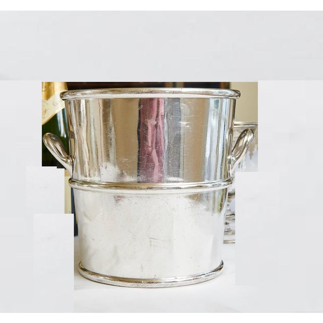 Reed & Barton Silverplate Moana Hotel, Hawaii Champagne Bucket For Sale - Image 9 of 9