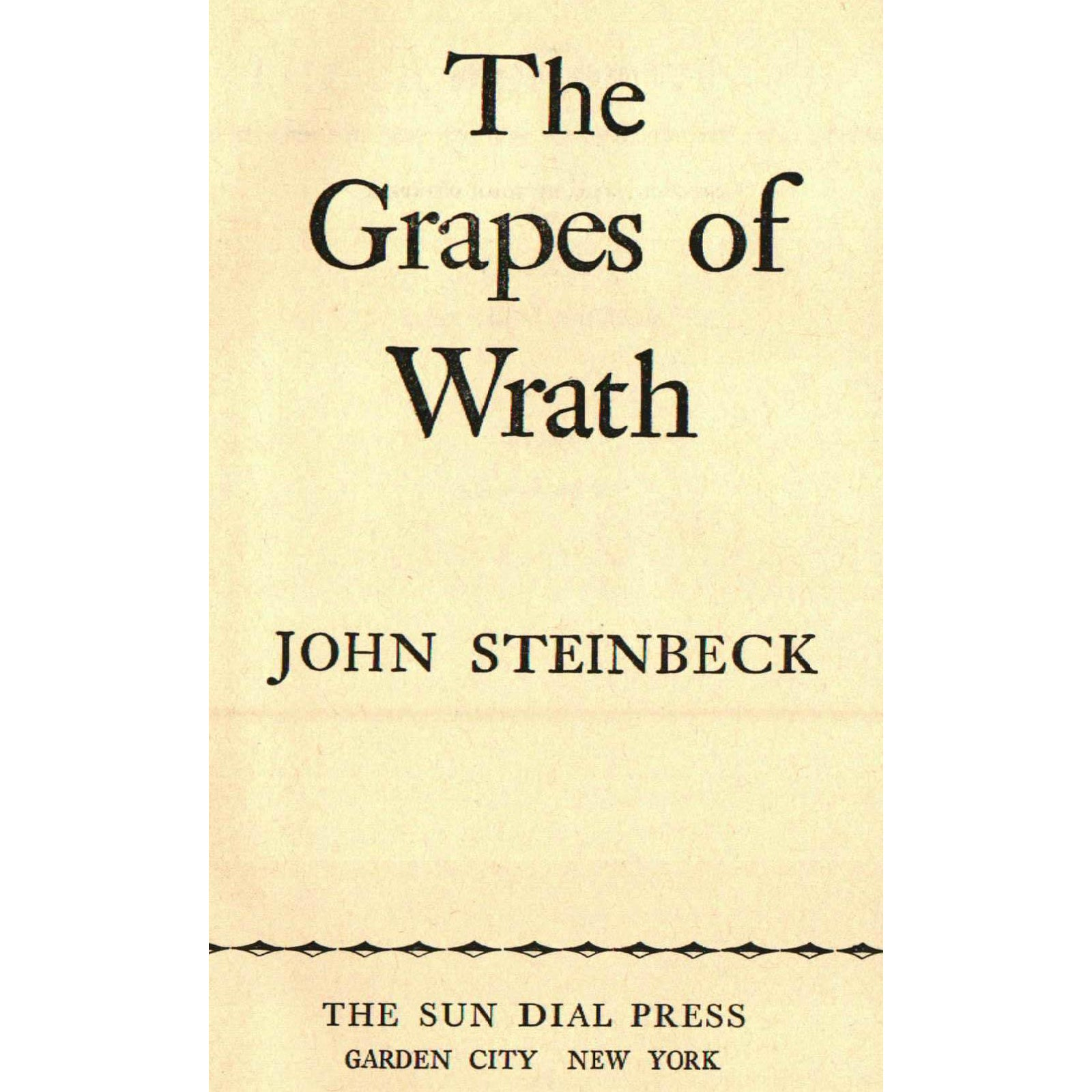 an analysis of bold dramatization in the grapes of wrath by john steinbeck The grapes of wrath can be divided into three specific sections: the drought and preparation to leave the farm, the journey to california, and the arrival in california the juxtaposition of two chapters of general observation marks the respective end and beginning of these first two sections.