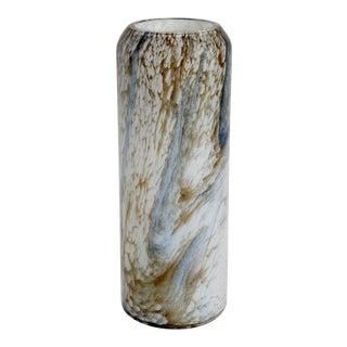 Val Saint-Lambert Mid-Century Art Glass Vase