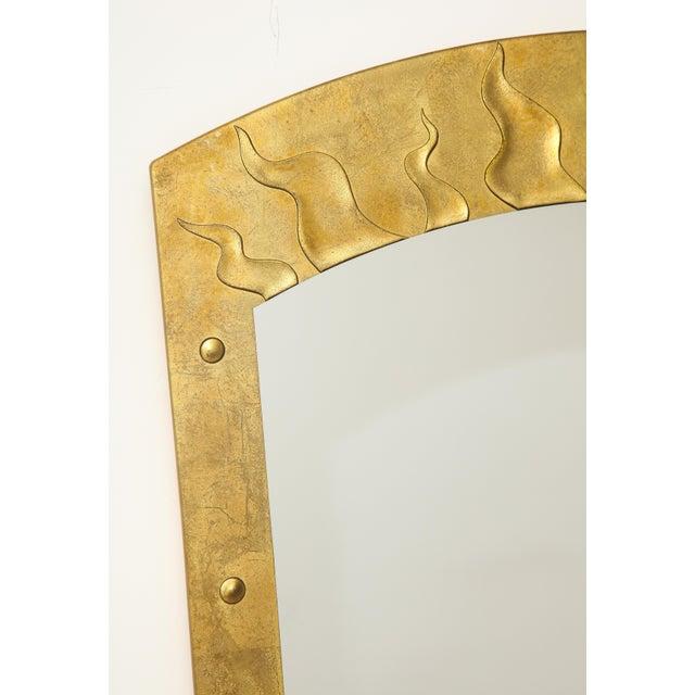 Mid-Century Modern David Marshall Èglomisé Mirror For Sale - Image 3 of 13