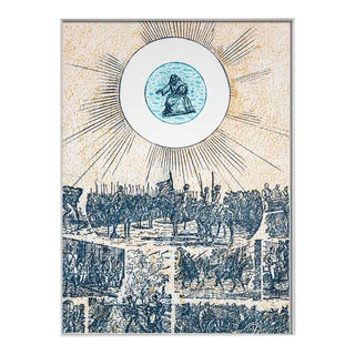 """Modern Max Ernst Lithograph Original Numbered Limited Ed. """"Seen and Approved"""" For Sale"""