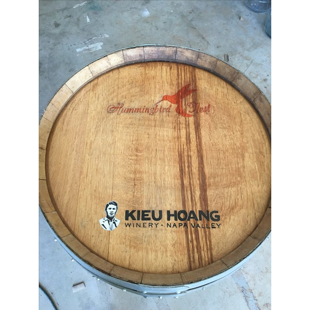 Barrel Form Wine Rack Bar - Image 3 of 3