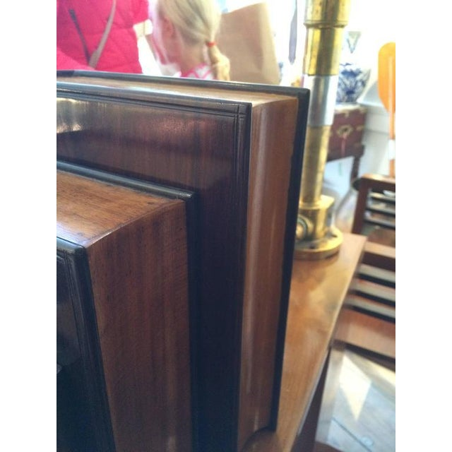 Early 20th Century Satinwood and Rosewood Book Box For Sale - Image 5 of 6