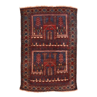 Tribal Wool Pile Rug For Sale