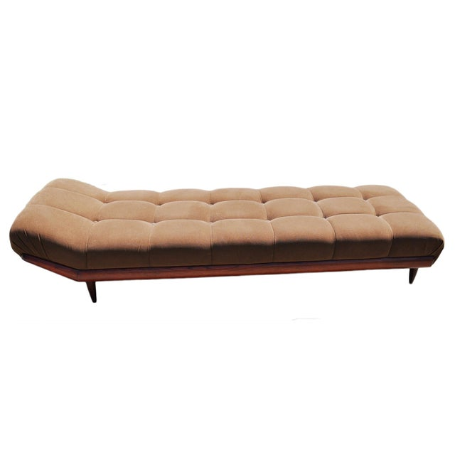 1970s Vintage Adrian Pearsall Style Gondola Chaise For Sale - Image 9 of 9