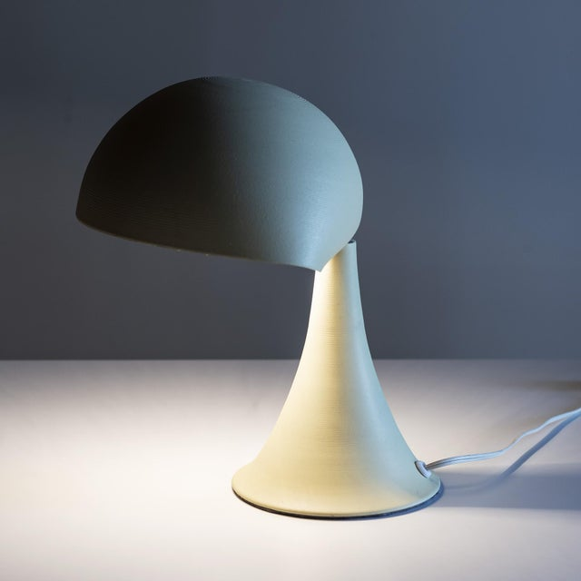 Metal Small American Desk Lamp, 20th Century For Sale - Image 7 of 10