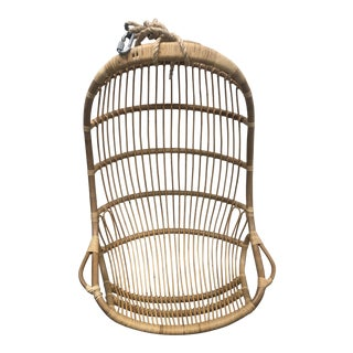 Hanging Rattan Chair For Sale