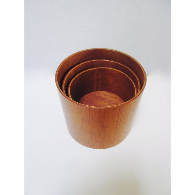 Danish Modern Teak Canister Set - Image 4 of 11
