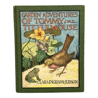 1920s Vintage Illustrated Children's Book Decor For Sale