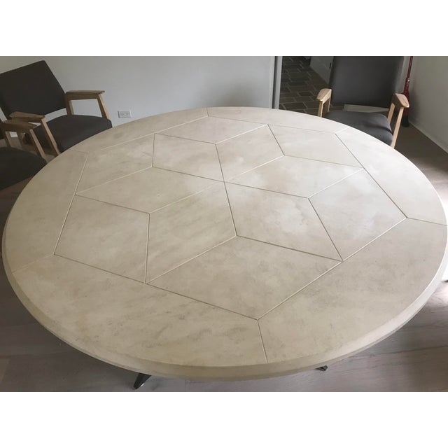 Contemporary Formations Alessio Dining Table For Sale - Image 3 of 5