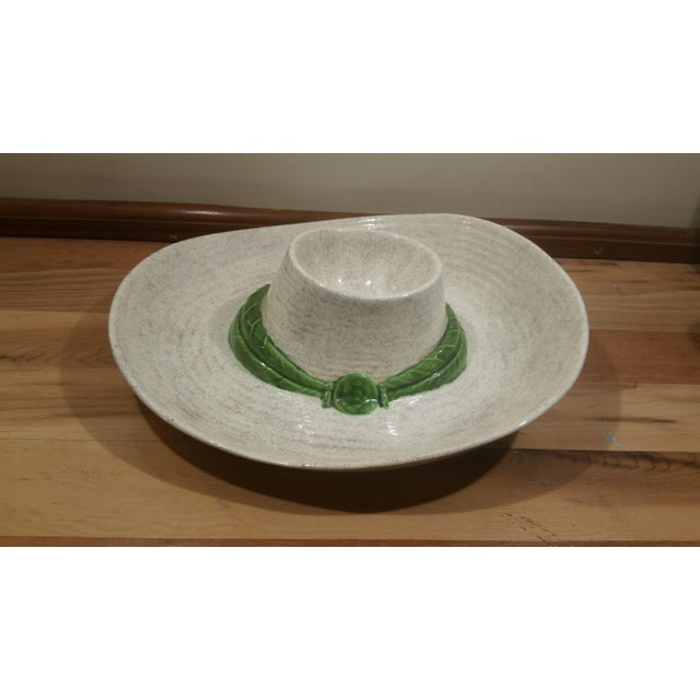 Ceramic Sombrero Chip & Dip Dish - Image 2 of 5
