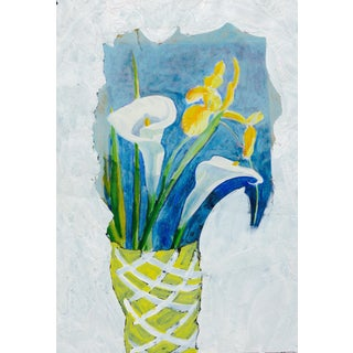 Iris and Calla Lily For Sale