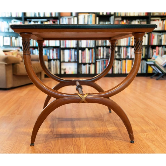 T.H. Robsjohn-Gibbings 1960s Vintage Robsjohn-Gibbings Side Tables - a Pair For Sale - Image 4 of 11