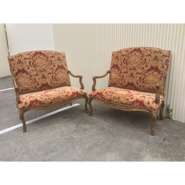 Tuscan Style Settees - a Pair For Sale - Image 13 of 13