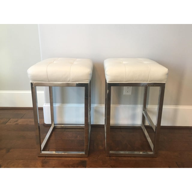 Mitchell Gold Bob Williams Bar Stools - A Pair - Image 3 of 3
