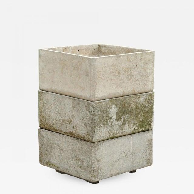 1960s Stackable Fiber Concrete Planter by Eternit Sa, Switzerland, 1960s For Sale - Image 5 of 5