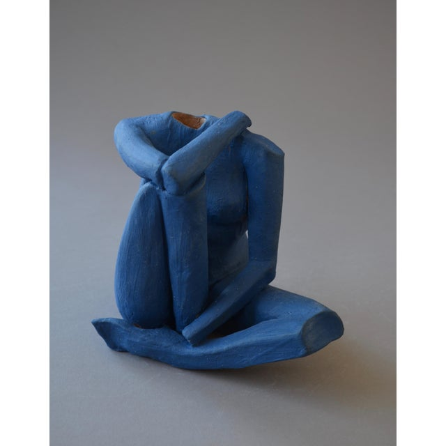 2010s Contemporary Ceramic Figurative Maquette For Sale - Image 5 of 6