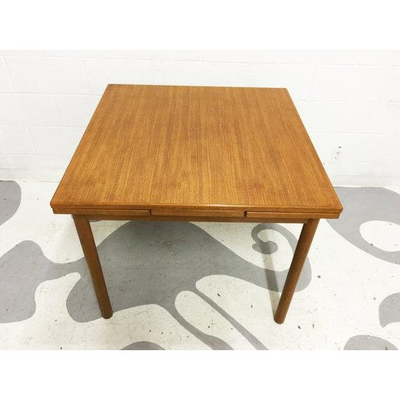Mid-Century Modern Dining Table in Teak - Image 5 of 6