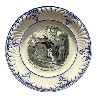 Creil Et Montereau French Plate For Sale