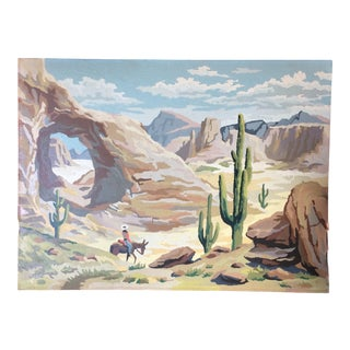 American Desert Paint-By-Number