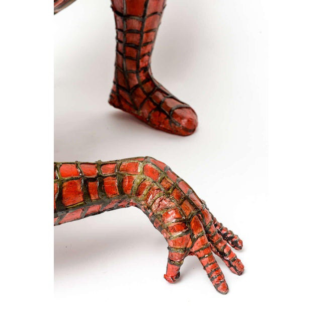 Domenico Pellegrino Spiderman Sculpture - Image 8 of 10