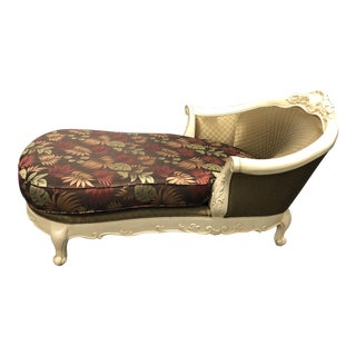 French Provincial Style Chaise Lounge