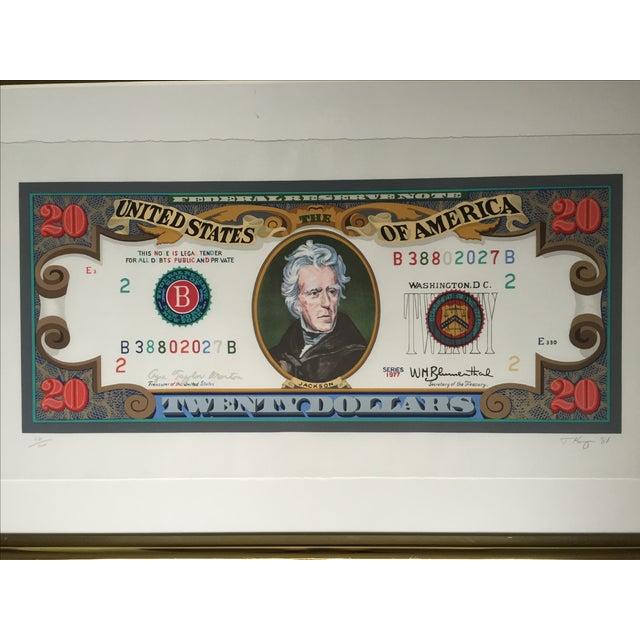 'Jackson 20' Framed Print by Tony King, 1981 - Image 3 of 10