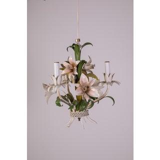 Madcap Cottage Tole Lily 3-Light Chandelier Preview