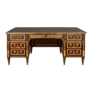 Louis XVI Style Executive Desk For Sale