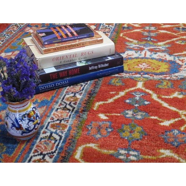 Fantastic Antique Sultanabad Carpet For Sale In New York - Image 6 of 10