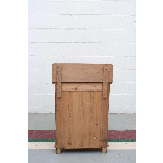 Pine Late 19th Century Pine Cupboard / Washstand For Sale - Image 7 of 7
