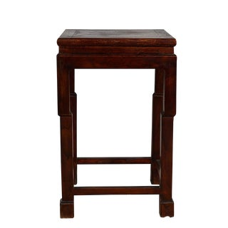20th Century Chinese Carved Plant Stand/Telephone Table For Sale