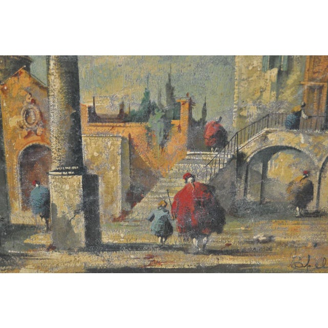 19th Century Italian School Oil Painting For Sale - Image 5 of 10