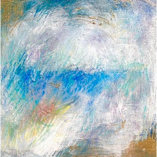 "Original Mixed Media Painting ""Horizon Line"" For Sale"
