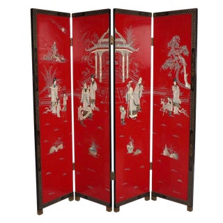 1970s Chinoiserie Style Room Divider For Sale