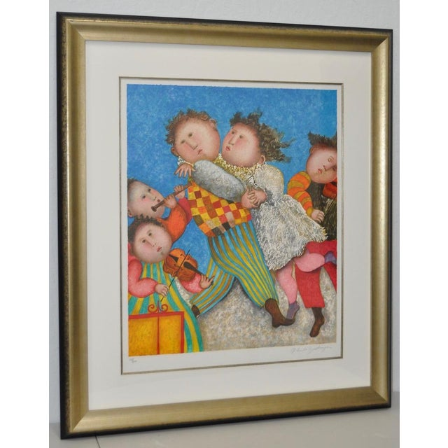 Graciela Rodo Boulanger Signed & Numbered Lithograph c.1980 - Image 2 of 9