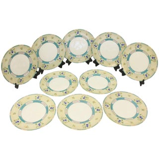 Circa 1900 Royal Doulton Service Plates - Set of 10