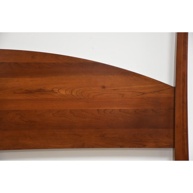Ethan Allen Ethan Allen American Impressions Solid Cherry King Bed For Sale - Image 4 of 10