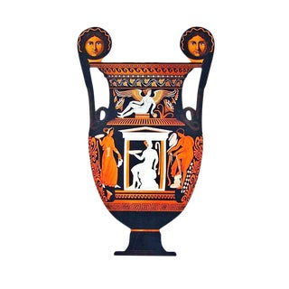 Albert Genick, a Lithographic Print of an Ancient Greek Vase, an Amphora For Sale
