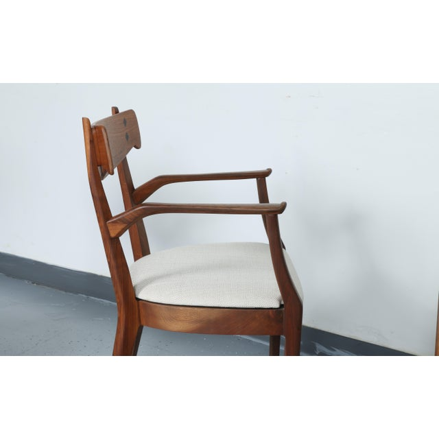 Kipp Stewart for Drexel set of 8 Dining Chairs - Image 6 of 11