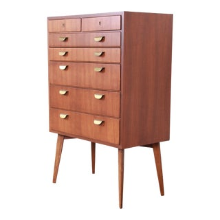 Helmut Magg for WK Möbel Mid-Century Modern Bachelor Chest For Sale