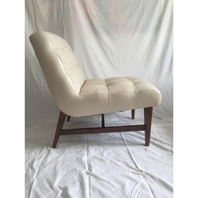 Mitchell Gold & Bob Williams Sergio Leather Chair - Image 4 of 6