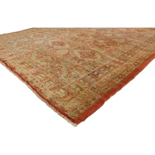 Antique Turkish Oushak Runners - A Pair Preview