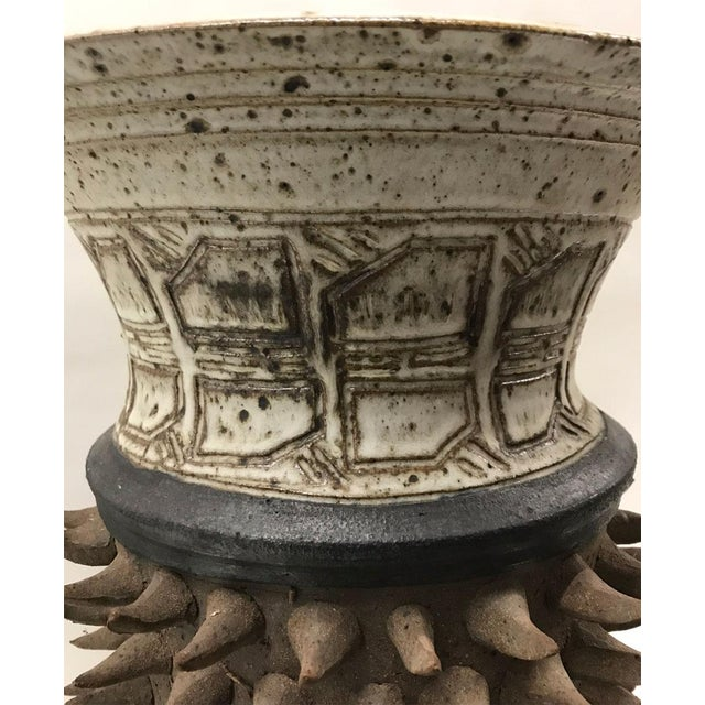 Sculptural Studio Pottery Vase - Image 5 of 7