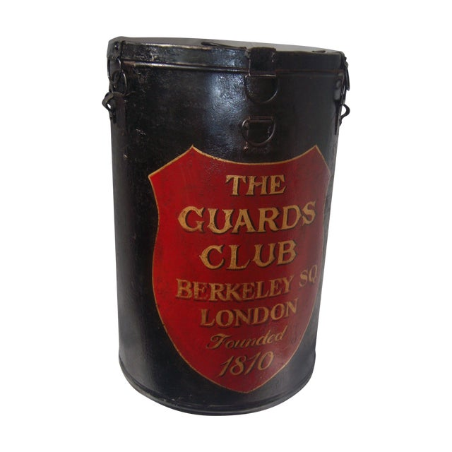 English Painted Metal Ballot Box - Image 1 of 10