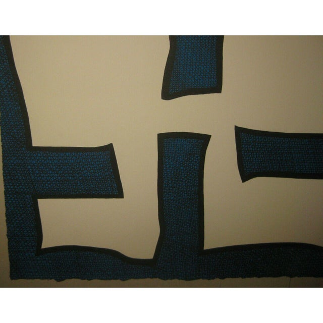 1967 Abstract Silkscreen by Michael Knigin For Sale - Image 10 of 12