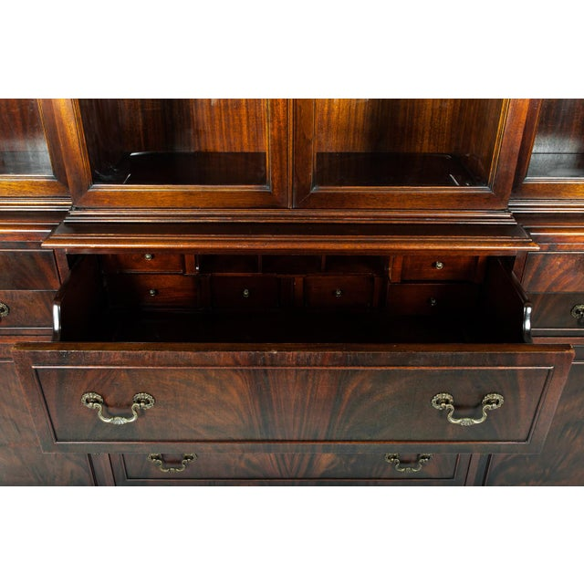 Mid 19th Century Mid 19th Century Antique American China Cabinet Hutch For Sale - Image 5 of 9