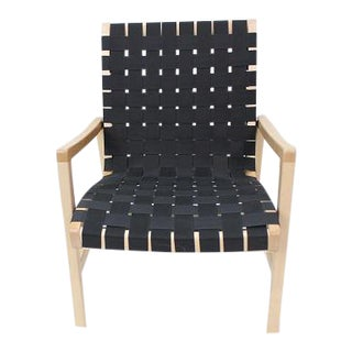 1990s Vintage Jens Risom for Knoll Lounge Chair For Sale