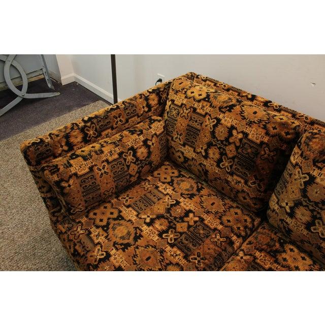 Mid Century Milo Baughman Forecast Furniture Sofa - Image 5 of 11