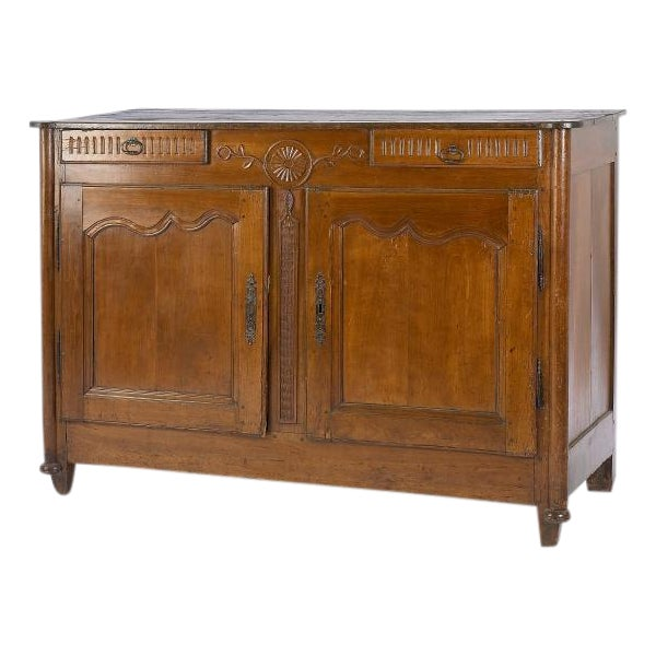 1880's French Buffet with Carving Details - Image 1 of 4